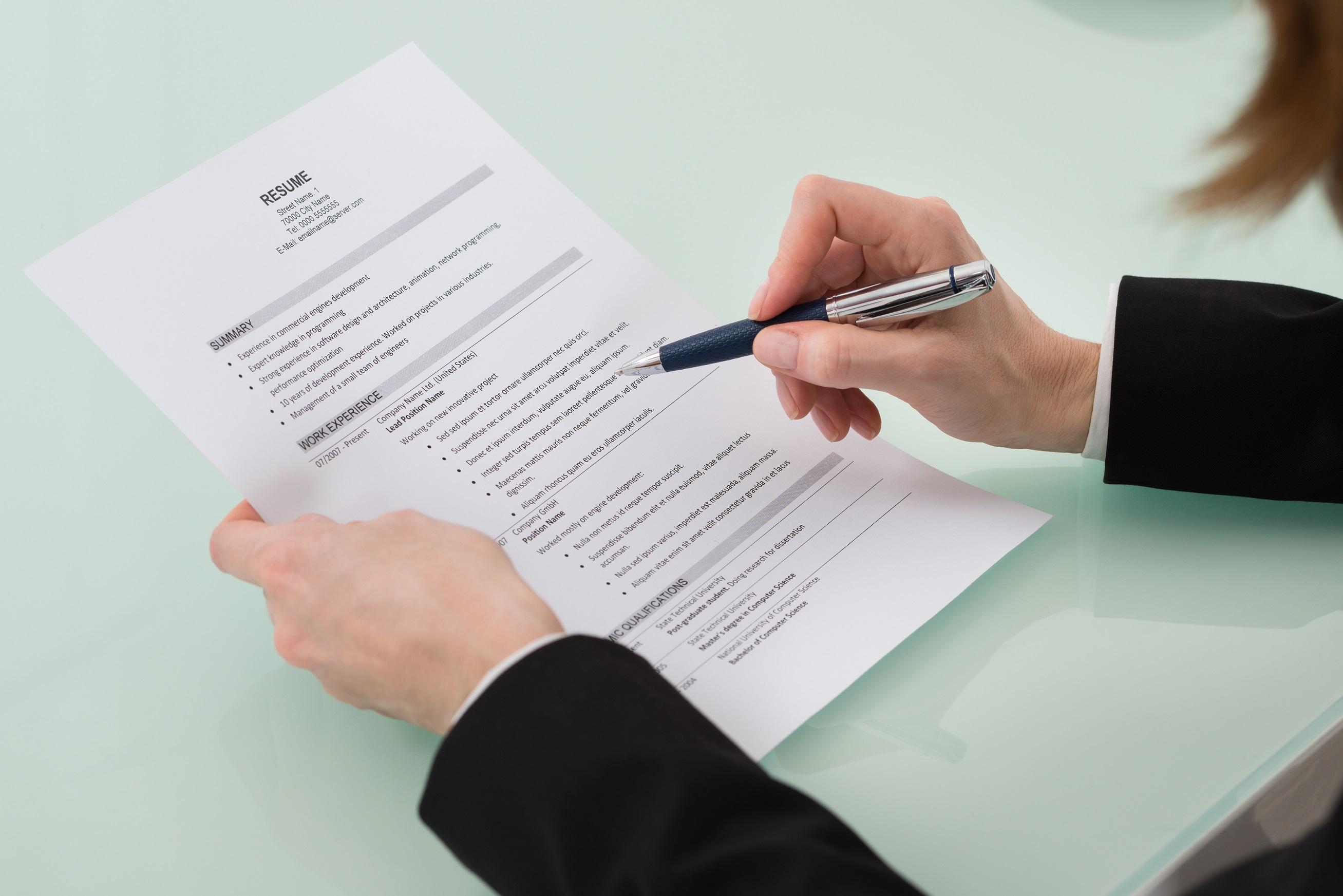 mẫu viết đơn xin việc