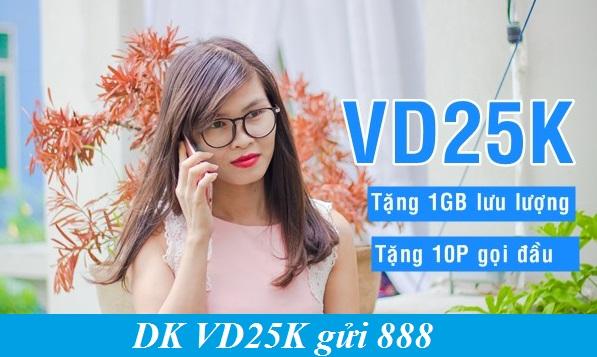 gói cước VD25K Vinaphone