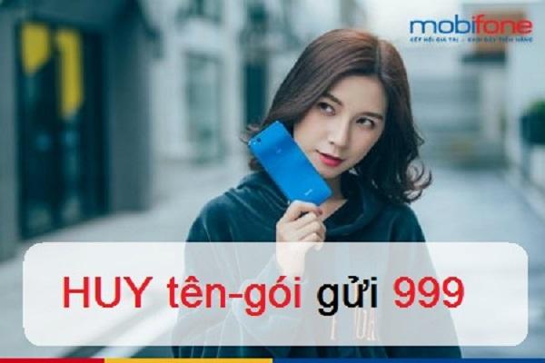 cách hủy 3G Mobifone cho thuê bao đang dùng