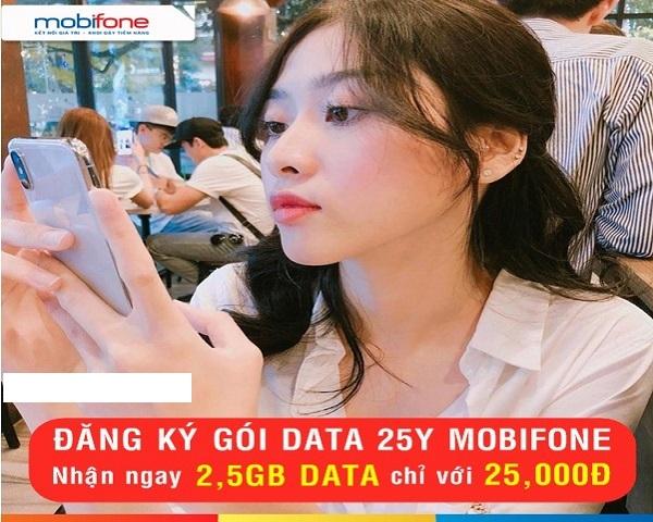Gói cước 25Y Mobifone