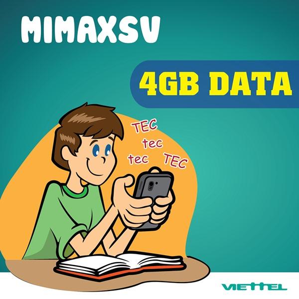 gói cước MIMAXSV của Viettel