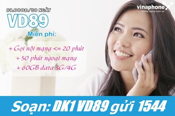 gói cước VD89 Vinaphone