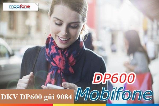 gói cước DP600 Mobifone