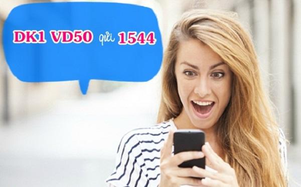 đăng ký gói cước VD50 Vinaphone