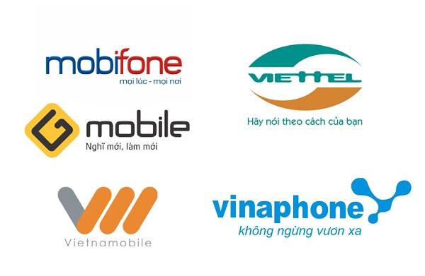 mua thẻ điện thoại các mạng di động
