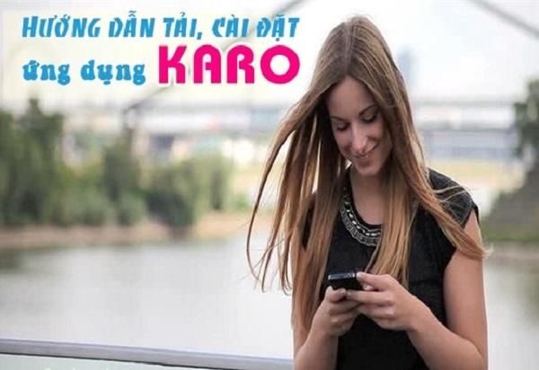 ứng dụng Karo Vinaphone