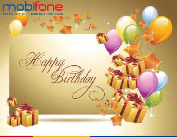 Mobifone tặng quà chúc mừng sinh nhật tháng 5/2018 cho KV3